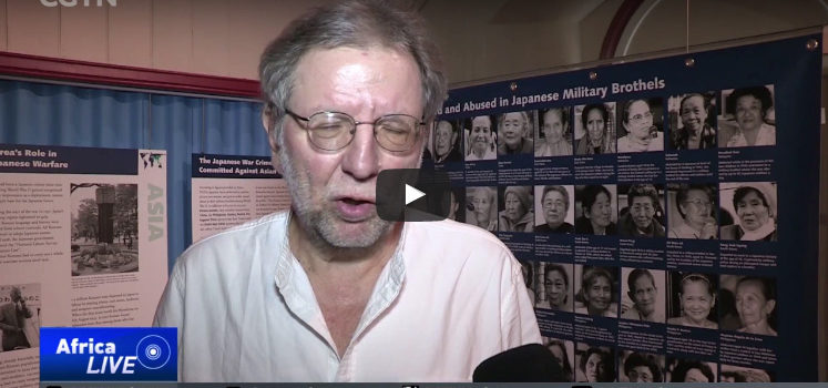 Video: International coverage of the opening of the provocative WW2 Exhibition at the Castle of Good Hope